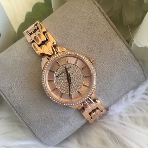 Michael Kors woman's allie rose gold watch